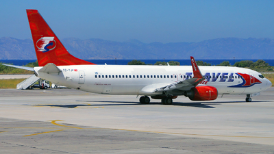 TC-TJP - Boeing 737-8BK - Travel Service (Corendon Airlines)