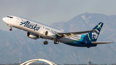 N237AK - Boeing 737-990ER - Alaska Airlines