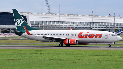 PK-LKP - Boeing 737-8GP - Lion Air