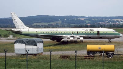 TU-TCP - Douglas DC-8-53 - Zurich Airport Authority