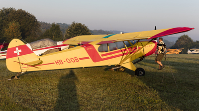 HB-OQB - Piper PA-18-180M Super Cub - Private