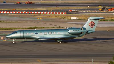 N313AG - Gulfstream G650ER - Private