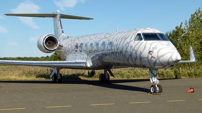 N236MJ - Gulfstream G550 - Private