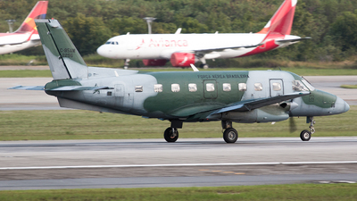 A picture of FAB2296 - Embraer C95AM Bandeirante -  - © BANNED