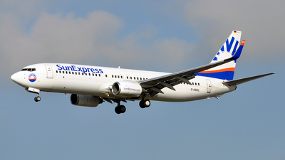 D-ASXL - Boeing 737-8EH - SunExpress Germany