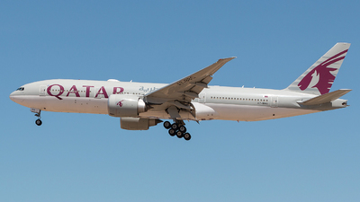 A7-BBG - Boeing 777-2DZLR - Qatar Airways