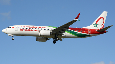 A picture of CNMAX - Boeing 737 MAX 8 - Royal Air Maroc - © Romain Salerno / Aeronantes Spotters