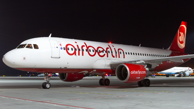 D-ABNT - Airbus A320-214 - Air Berlin