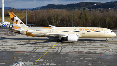 A picture of A6BLY - Boeing 7879 Dreamliner - Etihad Airways - © JKKW