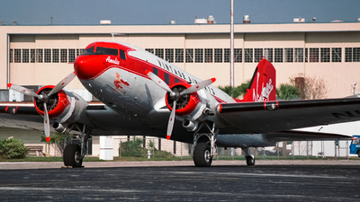 N12RB - Douglas DC-3 - Vintage Airways