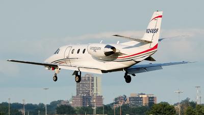 A picture of N248SF - Cessna 560XL Citation Excel - Delta Private Jets - © MingyaoLeonardo