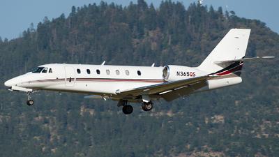 N365QS - Cessna 680 Citation Sovereign - NetJets Aviation