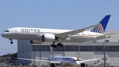 A picture of N26910 - Boeing 7878 Dreamliner - United Airlines - © kaoru mizoguchi
