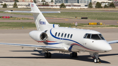 N89WA - Hawker Beechcraft 800XP - Private