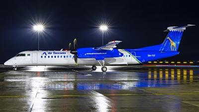 A picture of 5HTCF - De Havilland Canada Dash 8400 - Air Tanzania - © Cibulka Tomas