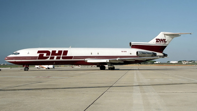 OO-DHU - Boeing 727-223(Adv)(F) - DHL (European Air Transport)