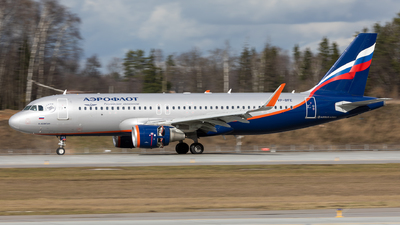 A picture of VPBFE - Airbus A320214 - Aeroflot - © Svyatoslav