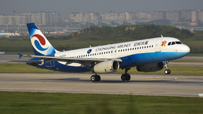 B-2343 - Airbus A320-233 - Chongqing Airlines