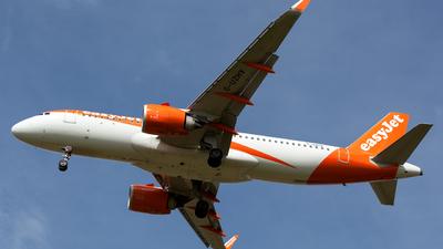 G-UZHV - Airbus A320-251N - easyJet