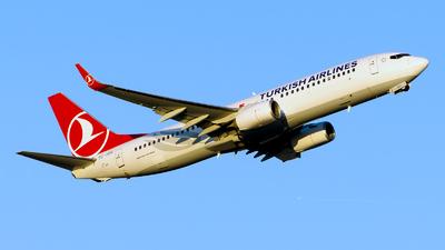 TC-JZG - Boeing 737-8F2 - Turkish Airlines