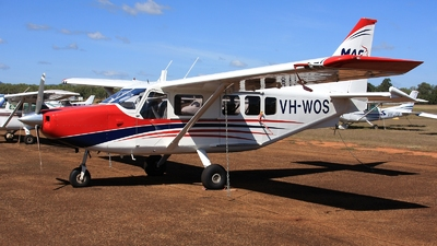 VH-WOS - Gippsland GA-8-TC320 Airvan - Mission Aviation Fellowship (MAF)