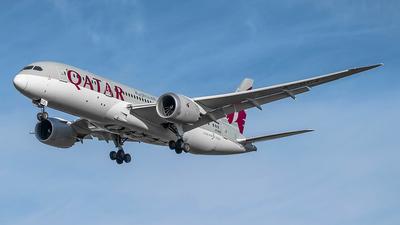 A picture of A7BCZ - Boeing 7878 Dreamliner - Qatar Airways - © Frantisek Sindelar