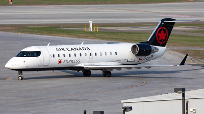 C-GJZZ - Bombardier CRJ-200ER - Air Canada Express (Jazz Aviation)