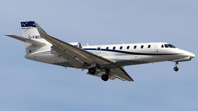 C-FMCG - Cessna 680 Citation Sovereign - Private
