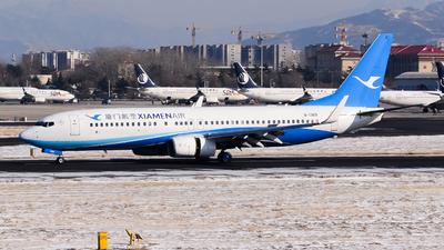 A picture of B1369 - Boeing 73785C - Xiamen Air - © Fei Yu