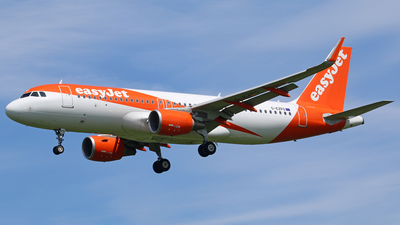 G-EZPO - Airbus A320-214 - easyJet