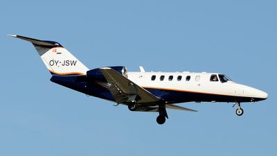 OY-JSW - Cessna 525A CitationJet 2 - Private