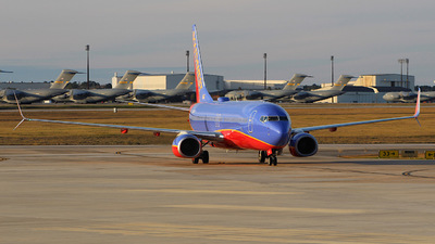 A picture of N8630B - Boeing 7378H4 - Southwest Airlines - © CHS Spotting