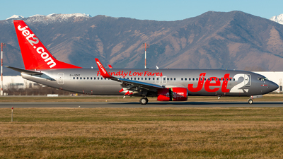 A picture of GJZHY - Boeing 7378MG - Jet2 - © Alessandro Maggia