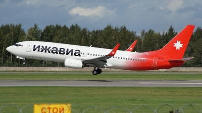 A picture of VPBUU - Boeing 73785R - Izhavia - ©  koba emukhvari