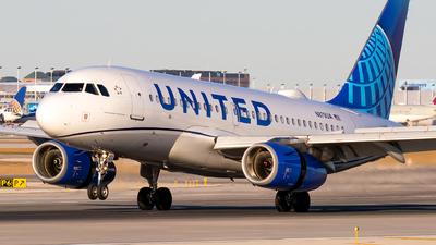 N879UA - Airbus A319-132 - United Airlines