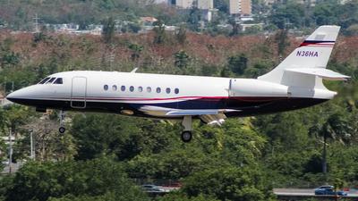 N36HA - Dassault Falcon 2000 - Private