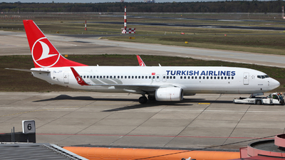TC-JFP - Boeing 737-8F2 - Turkish Airlines