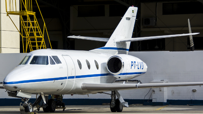 A picture of PTLVD - Dassault Falcon 10 - [223] - © Thiago Almeida Denz