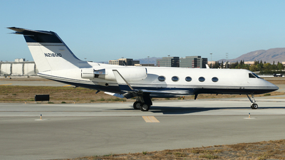 A picture of N218MD - Gulfstream III - [467] - © Carlos Vaz