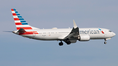 A picture of N314RH - Boeing 737 MAX 8 - American Airlines - © Marty B