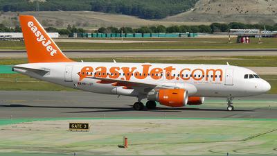 HB-JZP - Airbus A319-111 - easyJet Switzerland