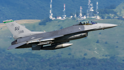 89-2118 - Lockheed Martin F-16CM Fighting Falcon - United States - US Air Force (USAF)