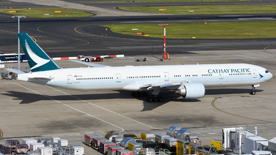 A picture of BKPY - Boeing 777367(ER) - Cathay Pacific - © JKKW