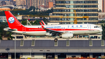 B-6956 - Airbus A320-232 - Sichuan Airlines