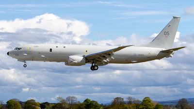 A picture of ZP805 - Boeing P8A Poseidon -  - © Ethan Hew - p_nilly