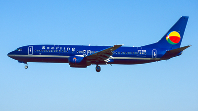 OY-SEB - Boeing 737-8Q8 - Sterling European Airlines