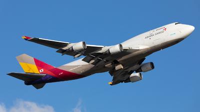 HL7413 - Boeing 747-48E(BDSF) - Asiana Cargo