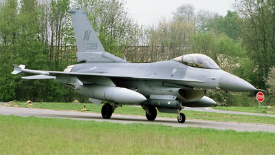 89-2029 - General Dynamics F-16C Fighting Falcon - United States - US Air Force (USAF)
