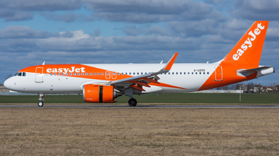 G-UZHO - Airbus A320-251N - easyJet