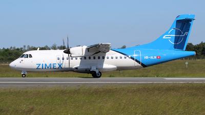 A picture of HBALN - ATR 42500 - Zimex Aviation - © KEYS